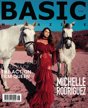 Michelle Rodriguez - Basic Magazine Cover - 2018