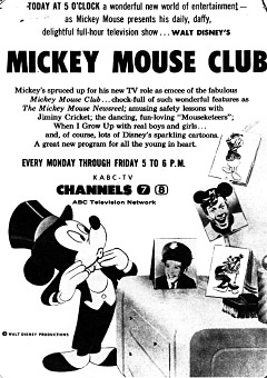 Mickey muis Club Promo Ad