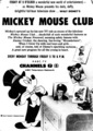 Mickey Mouse Club Promo Ad - disney photo