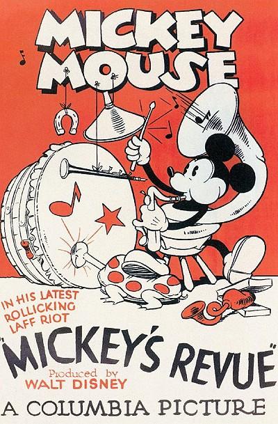 Mickey's Revue (1932)