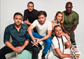 Midnight, Texas Cast at San Diego Comic Con 2018 - EW Portrait