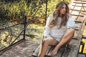 Milica poses for Story Srbija