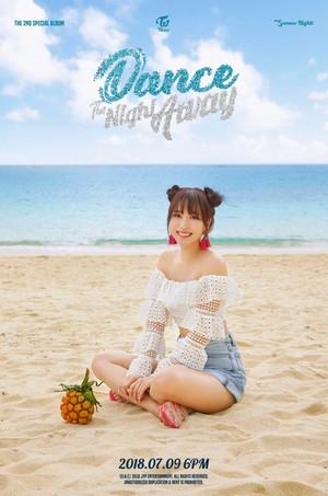 Mina's teaser image for 'Dance the Night Away'