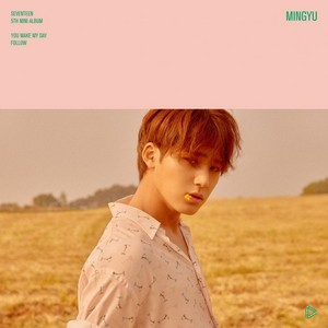 Mingyu individual teaser image for 'You Make My Day'