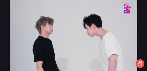 Minhyuk fondo de pantalla called Minhyuk/Wonho🔥