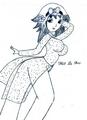 Miss La Sen in aodai, manga9