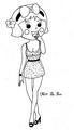 Miss La Sen in fashion 7