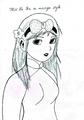 Miss La Sen in manga- aodai