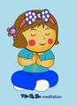 Miss La Sen in meditation time - miss-la-sen-lucky-doll photo