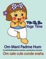Miss La Sen practices yoga 2