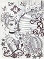 Monochrome Princess Cinderella - disney-princess fan art
