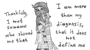 lebih Than My Diagnosis