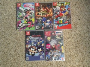 My 任天堂 Switch collection