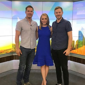 NEW fotos !!!! luke macfarlane and aaron ashmore