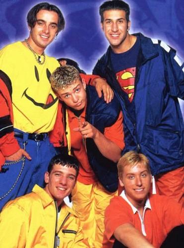 Boy Bands Обои entitled NSYNC 1995-2001