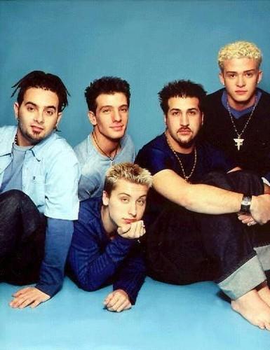Boy Bands Обои titled NSYNC 1995-2001