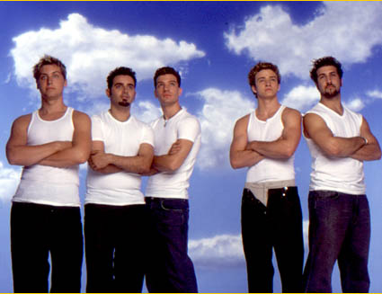 Boy Bands Обои titled NSYNC 1995-2001