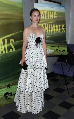 Natalie Portman at Eating animais New York Screening