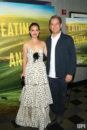 Natalie Portman at Eating animaux New York Screening