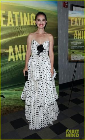 Natalie Portman at Eating animali New York Screening