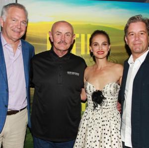 Natalie Portman at Eating 動物 New York Screening