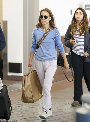 Natalie Portman at LAX airport