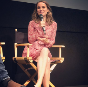 Natalie Portman at Landmark Theater and the IFC Center in NYC