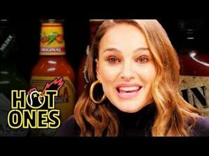 Natalie Portman on 'Hot Ones'