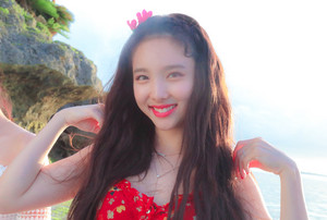 Nayeon 'Dance the Night Away' behind