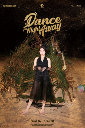 Nayeon teaser image for 'Dance the Night Away'