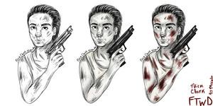 Nick Clark Comic Style por me.