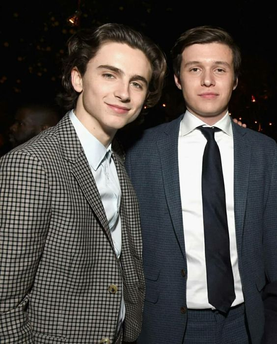 Nick Robinson with Timothee Chalamet - Nick Robinson Photo ...