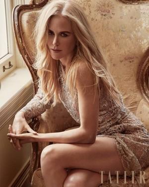 Nicole Kidman stuns in a photoshoot for Tatler Magazine [July 2018]