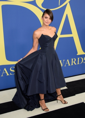 Nina Dobrev at 2018 CFDA Fashion Awards