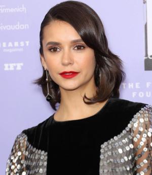 Nina Dobrev at Fragrance Foundation Awards 2018