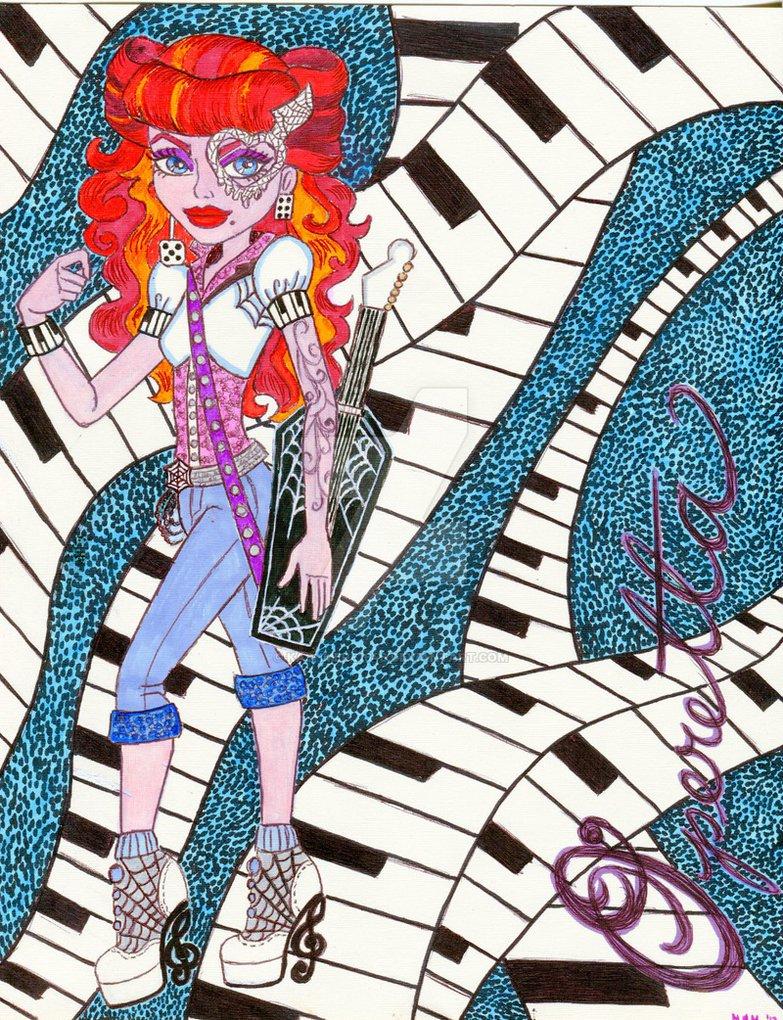 Operetta - Monster High Photo (25684363) - Fanpop