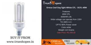 Oreva Cool ngày light White CFL OCFL 40W