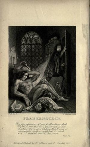 Original Frankenstein Illustration