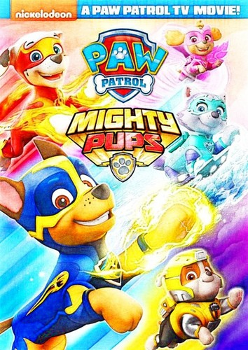 PAW Patrol karatasi la kupamba ukuta titled PAW Patrol: Mighty Pups