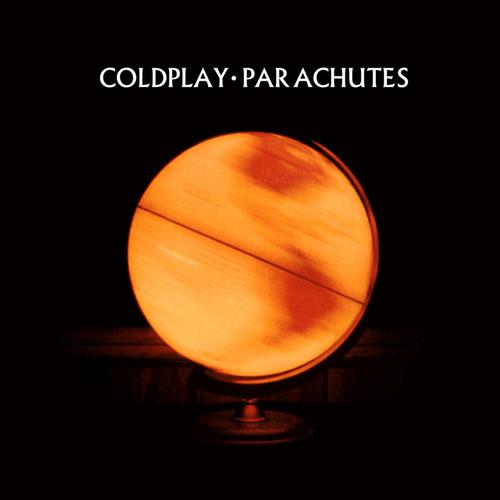 Coldplay karatasi la kupamba ukuta titled Parachutes