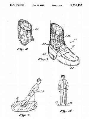 Patent Anti-Gravity Shoes