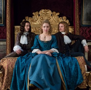 Philippe, Liselotte and Chevalier