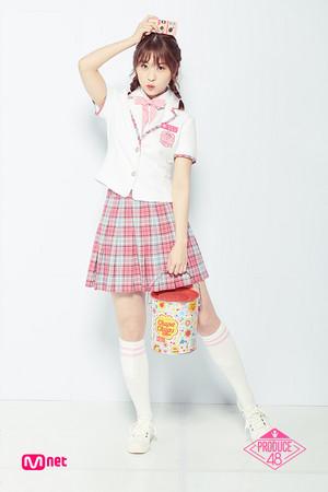 Produce48 Nakanishi Chiyori 2018