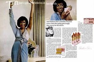 Promo Ad For Fashion Fair Cosmetics