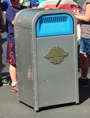 Push the Talking Trash Can