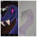 Pythor COLLAGE - ninjago fan art