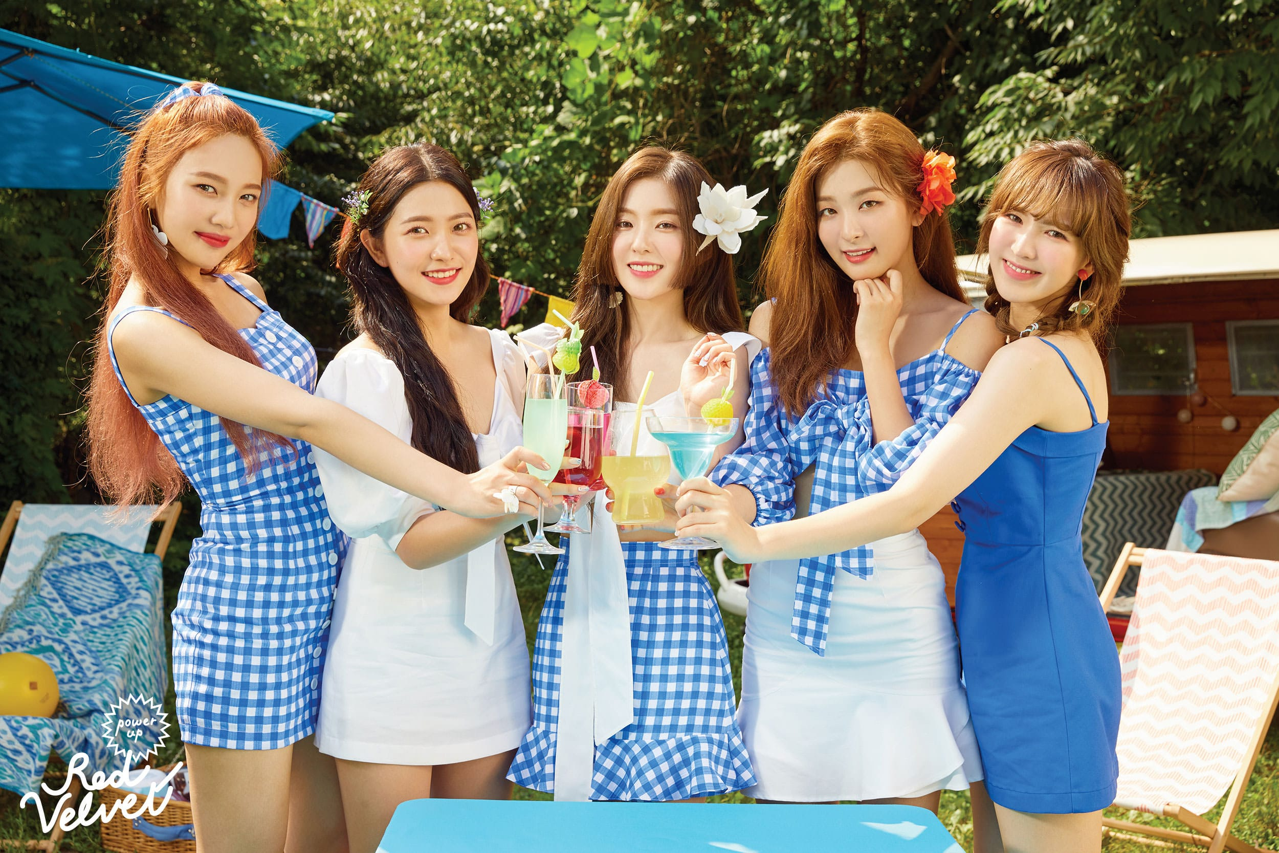 "RED VELVET teaser image for ""Summer Magic"""