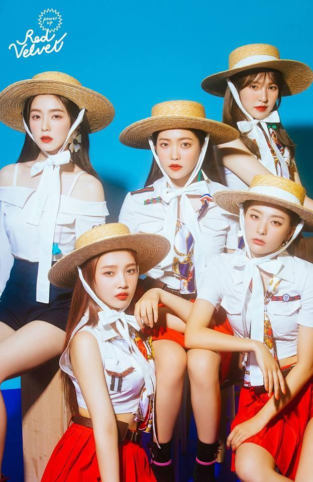 Red Velvet Images Red Velvet Teaser Image For Power Up Blue Ver