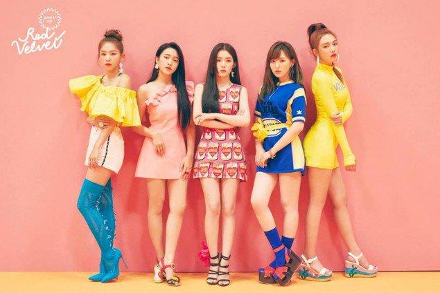 Red Velvet Bilder Red Velvet Teaser Image For Power Up Hintergrund