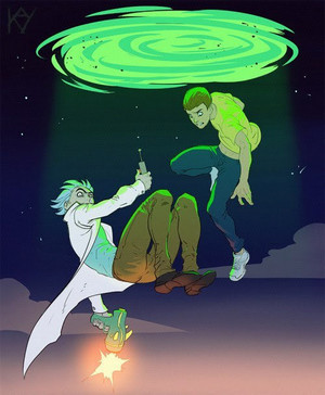 Rick and Morty anime version
